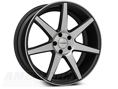 Vossen CV7 Machined Matte Graphite Wheel - 20x9 (05-14 All)