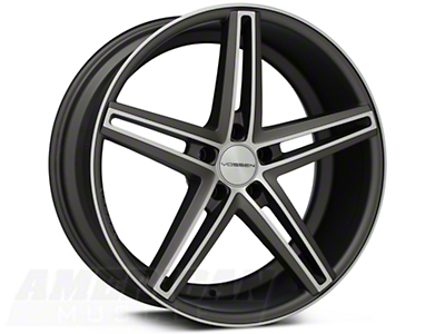 Vossen CV5 Machined Matte Graphite Wheel - 20x9 (05-14 All)