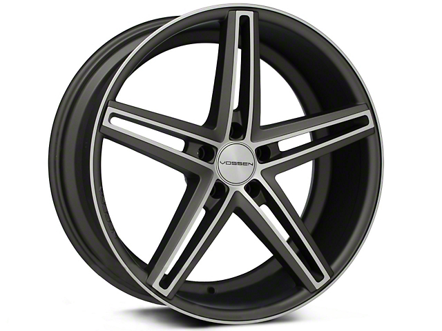 Vossen CV5 Matte Graphite Machined Wheel - 20x9 (05-14 All)