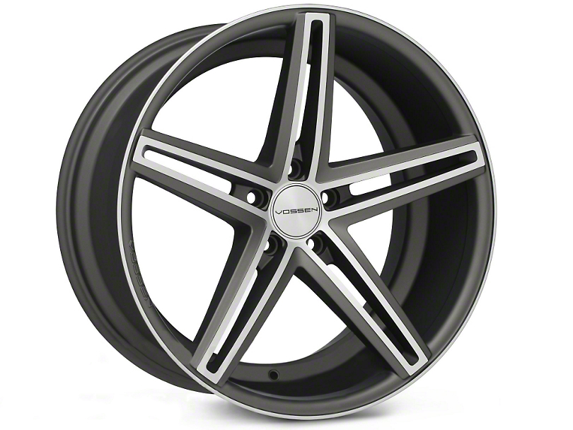 Vossen CV5 Matte Graphite Machined Wheel - 20x10.5 (05-14 All)