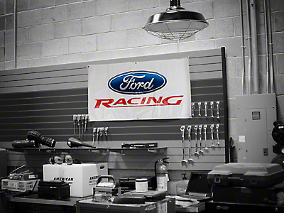 Ford Racing Garage Banner