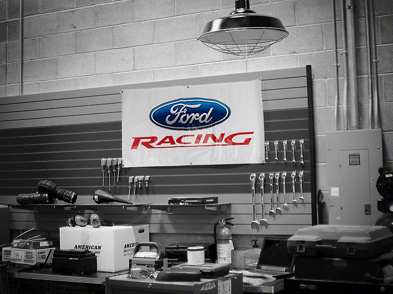 Ford Racing Garage Banner