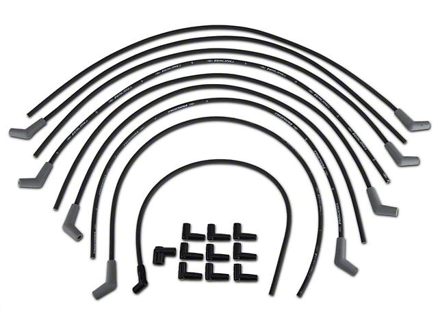 Ford Racing High Performance 9mm Spark Plug Wires - Black (79-95 V6, V8)