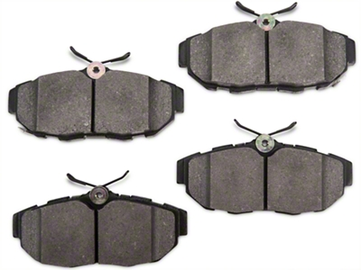 StopTech Street Performance Low-dust Composite Brake Pads - Rear (11-14 All)