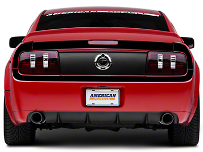 Gloss Black Rear Surround Decal - Upper & Lower (05-09 All)