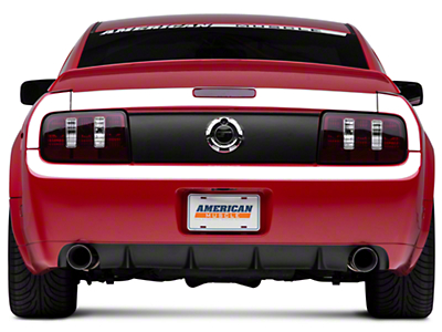 White Rear Surround Decal - Upper & Lower (05-09 All)