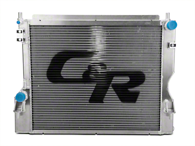 C&R Racing High Capacity Performance Radiator (05-10 GT)