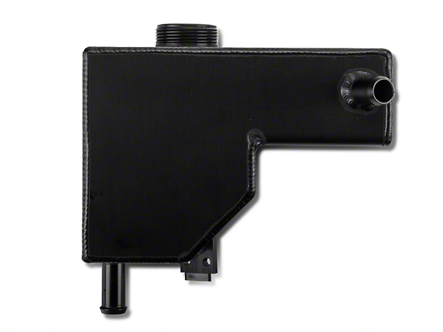 C&R Racing Supercharger Coolant Expansion Tank Reservoir - Black (07-12 GT500)
