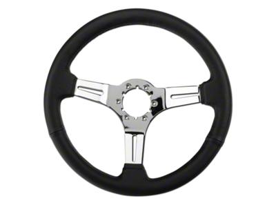 Black Leather Steering Wheel (79-04 All)