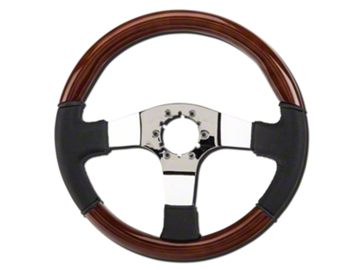 Wood & Leather Steering Wheel (79-04 All)
