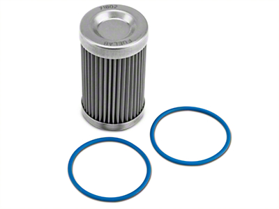 Fuelab Fuel Filter Replacement Element - 40 Stainless Steel (86-16 All)