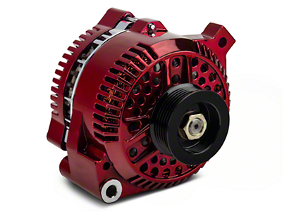 PA Performance Alternator - 130 Amp - Red (94-95 GT; 94-00 V6)