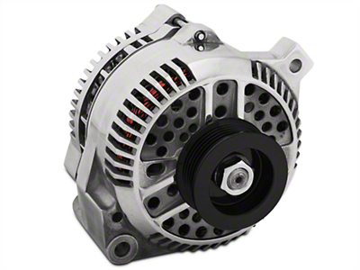 PA Performance Alternator - 130 Amp - Polished (94-95 GT; 94-00 V6)