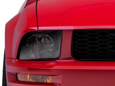 Black Euro Style Headlights (05-09 GT, V6)