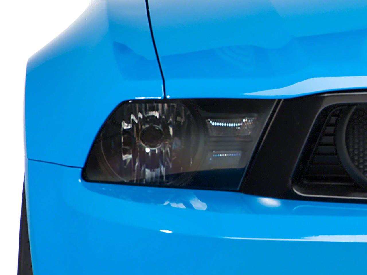 Black Euro Style Headlights (10-12 GT, V6)