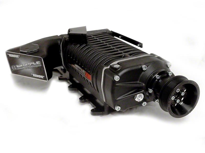 Whipple Black 2.9L Supercharger Upgrade Kit - Aftermarket Oval Throttle Body (03-04 Cobra)