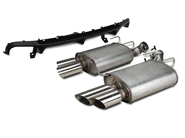Ford Performance Shelby GT500 Rear Valance & Exhaust Kit (13-14 All)
