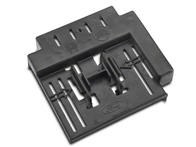 ford instrument panel fuse box cover 5c2z 14a003 ab 01 04. Black Bedroom Furniture Sets. Home Design Ideas