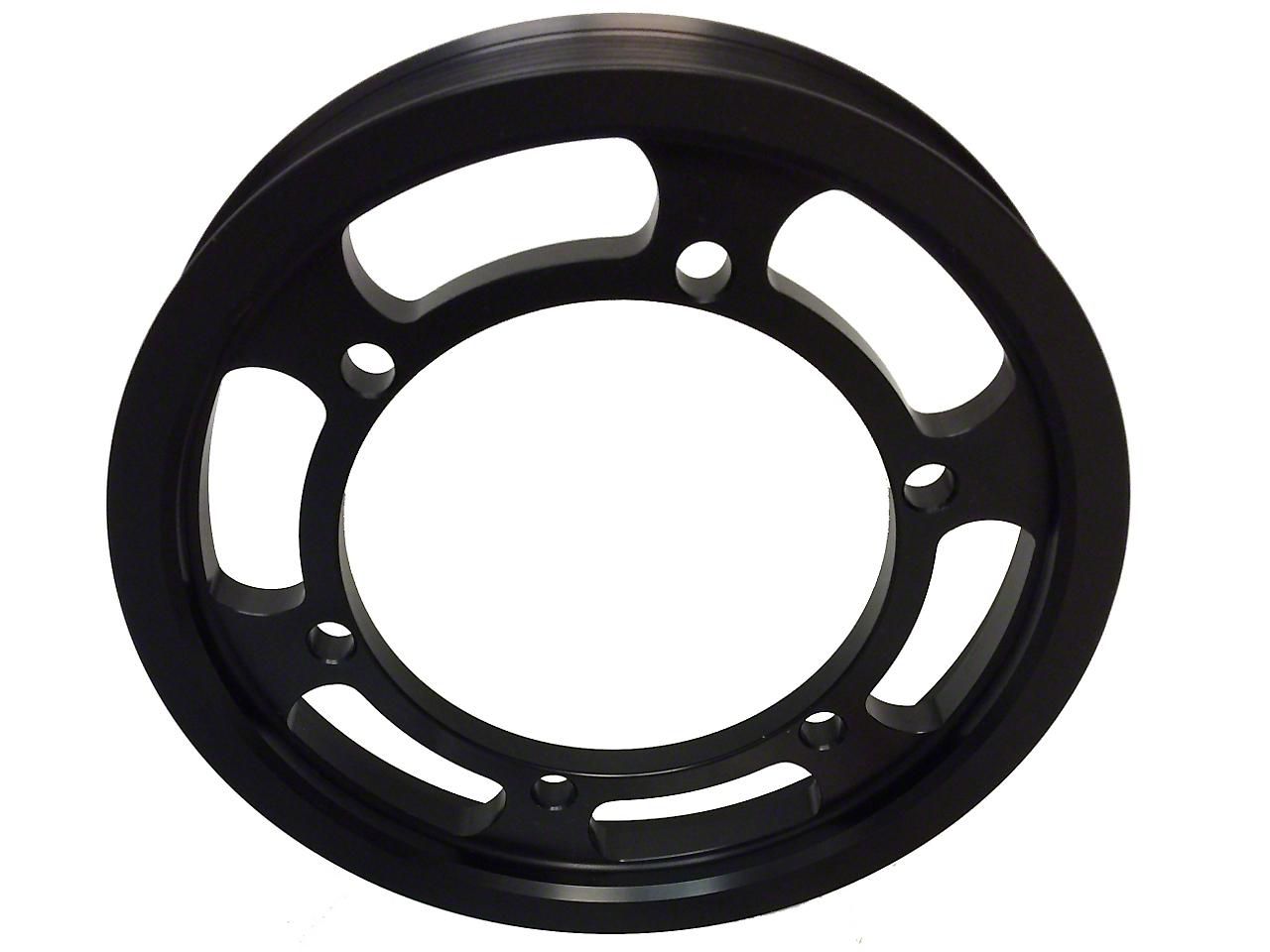 Metco Motorsports Crank Pulley Ring - 2lb Boost (03-04 Cobra)
