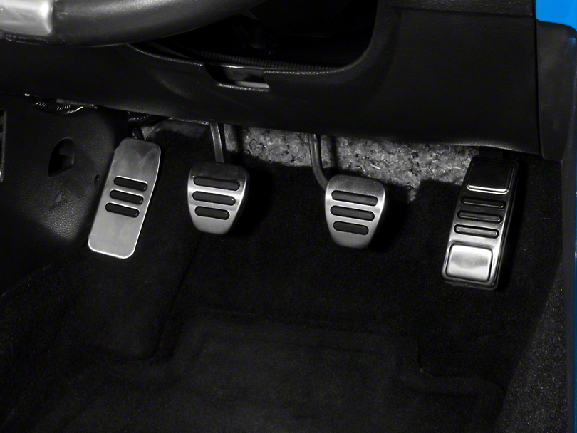 GT500 Style Pedal Covers - Manual (05-14 GT, V6)