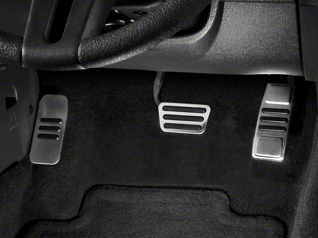 GT500 Style Pedal Covers - Automatic (05-14 GT, V6)