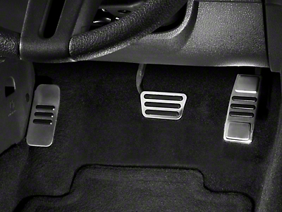 GT500 Style Pedal Covers - Automatic (05-14 All)