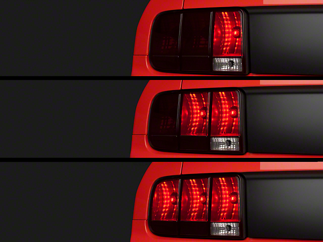 axial mustang sequential tail lights kit cut and splice 11060 05 09. Black Bedroom Furniture Sets. Home Design Ideas