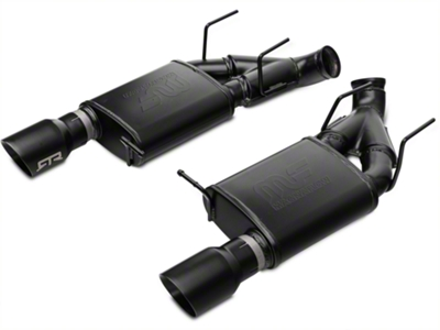 RTR Tactical Performance Street Spec Axle-Back Exhaust w/ Black Tips (11-14 GT)