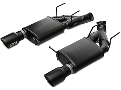 RTR Axle-back Exhaust w/ Black Tips (11-14 GT)