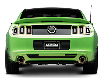 RTR 3pc Rear Splitter (13-14 All)