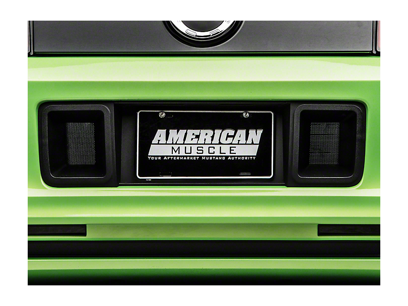 RTR Rear License Plate Surround w/ Ducts (13-14 All)