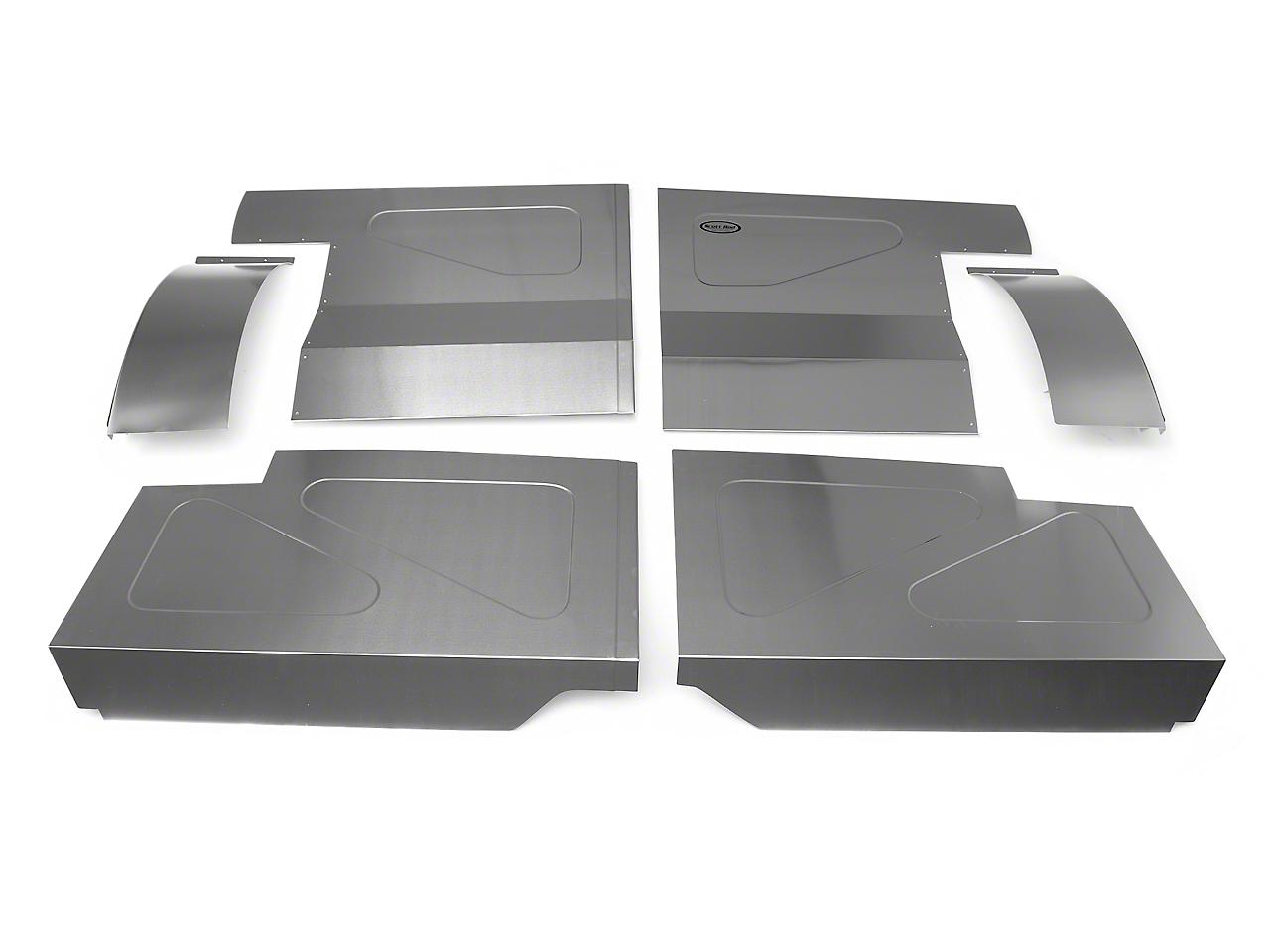 Scott Rod Fabrication Aluminum Rear Seat Delete Kit - Coupe (87-93 All)