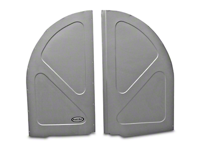 Scott Rod Fabrication Aluminum Spare Tire Cover Panel - Hatchback (79-93 All)