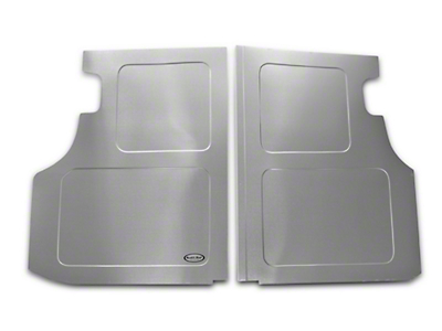 Scott Rod Fabrication Aluminum Trunk Floor Cover - Coupe (79-93 All)