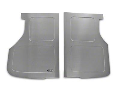Scott Rod Fabrication Aluminum Trunk Floor Cover - Hatchback (87-93 All)