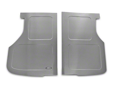 Scott Rod Fabrication Aluminum Trunk Floor Cover - Hatchback (87-93 All)