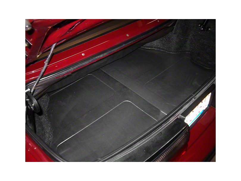 Scott Rod Fabrication Aluminum Trunk Floor Cover - Coupe (94-04 All)