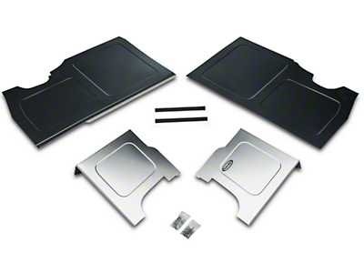 Scott Rod Fabrication Aluminum Trunk Floor And Side Panel Cover Kit (94-04 All)