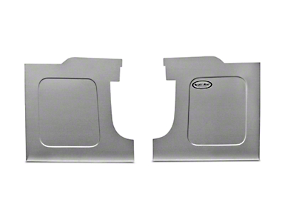 Scott Rod Fabrication Aluminum Trunk Side Panel Covers - Coupe (94-04 All)