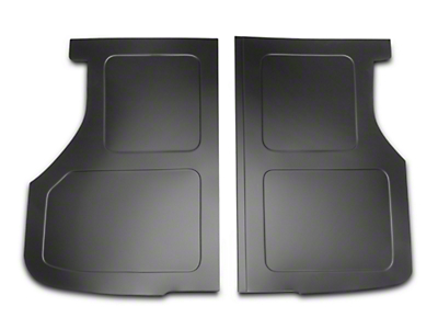 Scott Rod Fabrication Aluminum Trunk Floor Cover - Black - Hatchback (79-93 All)