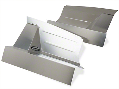 Scott Rod Aluminum Inner Skirt Covers (87-93 All)