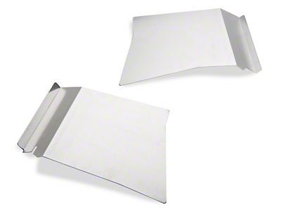 Scott Rob Fabrication Aluminum Rear Inner Skirt Covers (87-93 All)