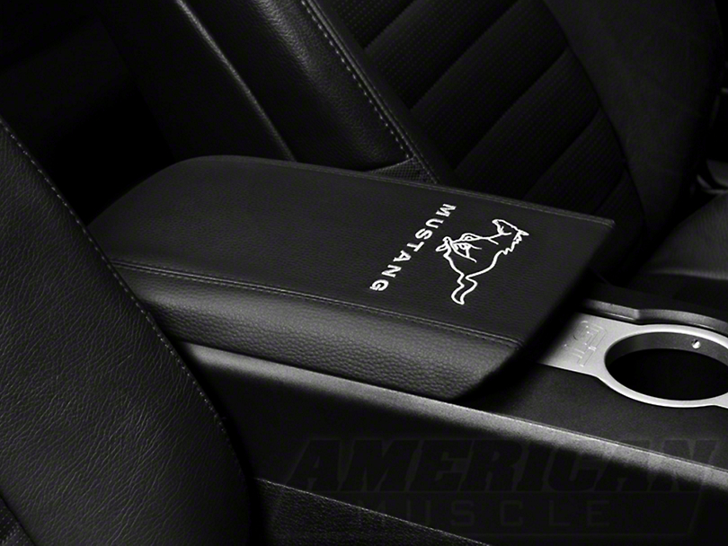 Arm Rest Cover - Running Pony Logo (05-09 All)