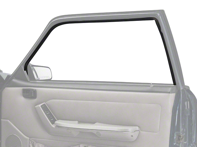 OPR Door Window Run Channel - Passenger Side - Coupe, Hatchback (79-93 All)