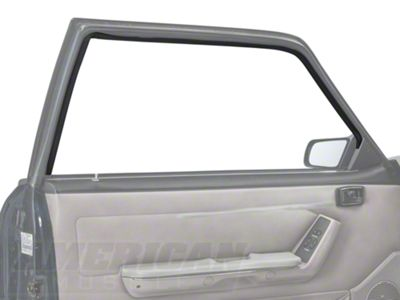 Add Door Window Run Channel - Driver Side - Coupe, Hatchback