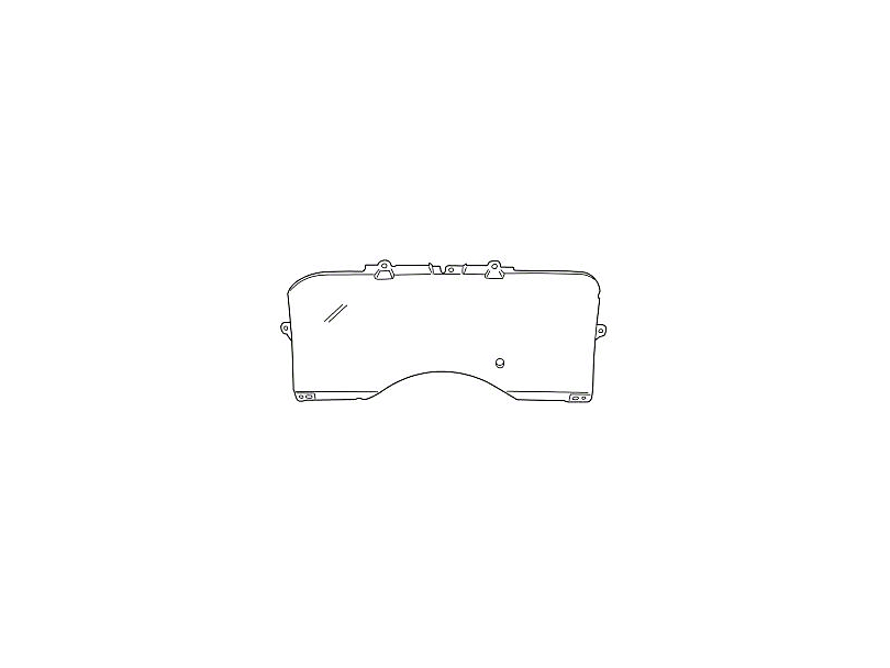 Clear Lens Instrument Cover (90-93 All)