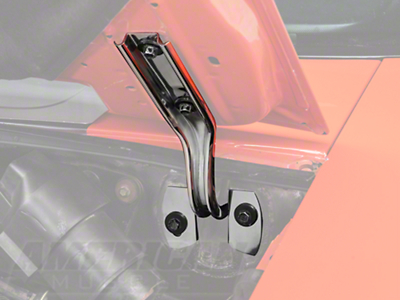 Polished Stainless Steel Hood Hinges (79-93 All)