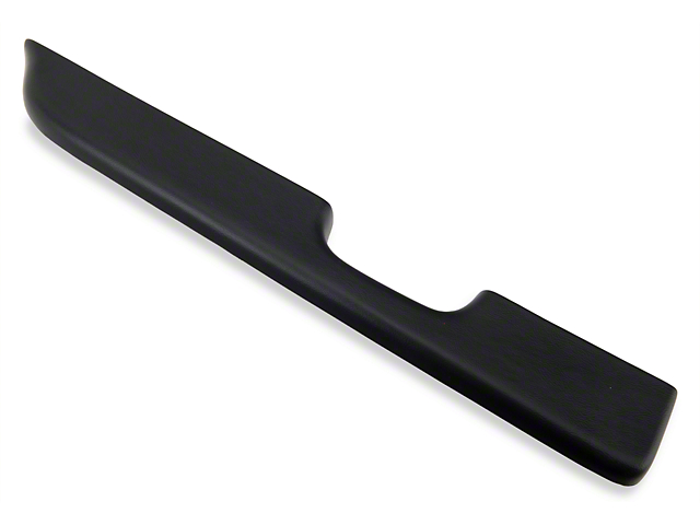 Black Door Arm Rest Pad - Left Power Window (87-93 All)