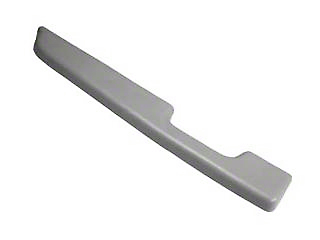 Titanium Gray Door Arm Rest Pad - Left Power Window (87-93 All)