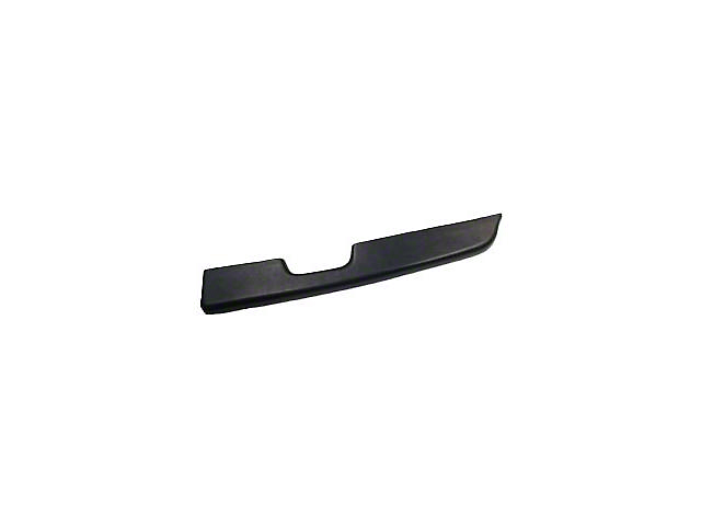 Black Door Arm Rest Pad - Right Power Window (87-93 All)